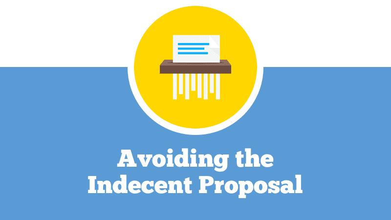 1.4 - Avoiding the Indecent Proposal