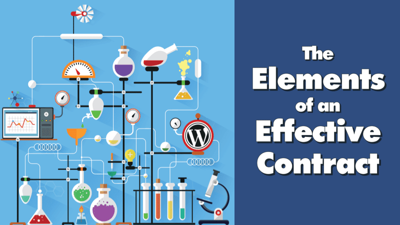 1.5 - Elements of an Effective Contract