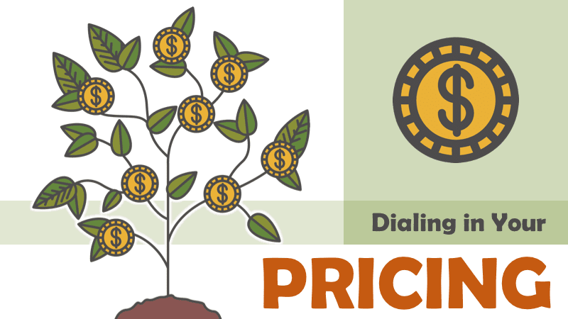 2.2 - Dialing in Your Pricing