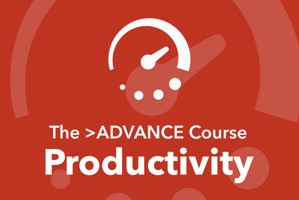 course-productivity
