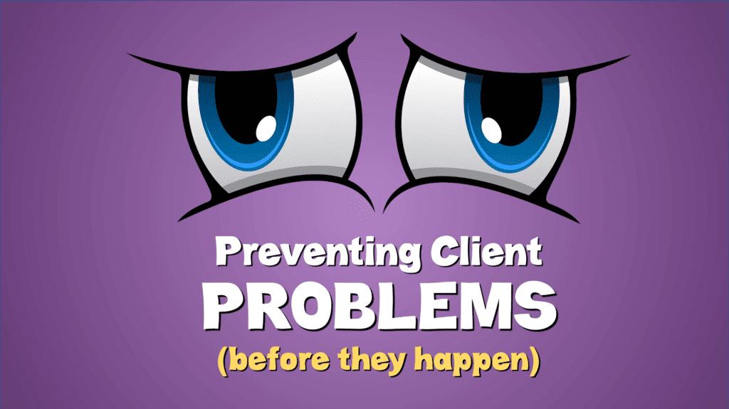 preventing-client-problems